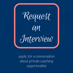 Request an interview - square